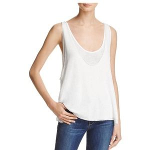 NWT Free People layered flowy tank top